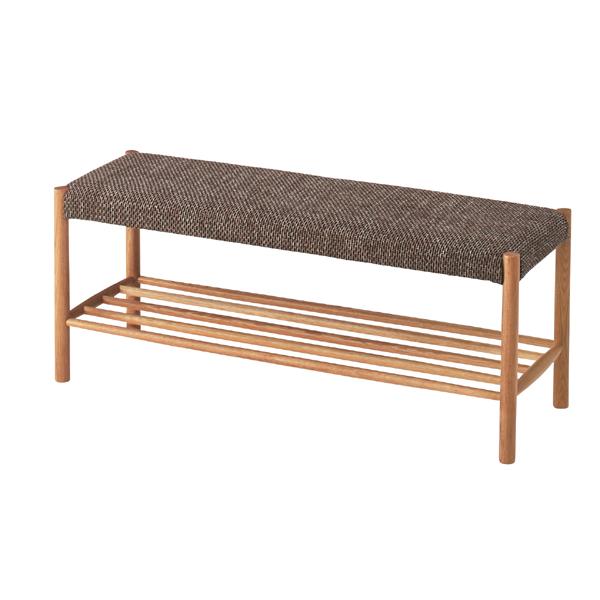 完成品 ダイニングベンチ 幅110cm 2人掛け 食卓椅子 チェアー チェア ダイニングチェアー イス 椅子 木製 二人掛け 2人掛け ベンチチェア 北欧 おしゃれ アンティーク 西海岸ブルックリン