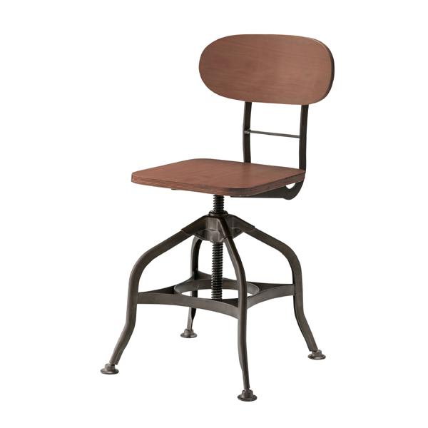 ダイニングチェア 食卓チェアー スチール 高さ調整 高さ調節 食卓椅子 いす イス 椅子 ダイニングチェアー レトロ モダン 北欧 ブルックリン 西海岸 男前 インテリア おしゃれ シンプル アンティーク カントリー かわいい 高級感