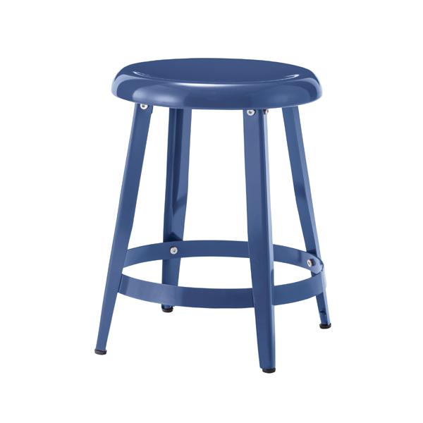 スツール 腰掛け スチール イス 椅子 チェアー オットマン 玄関 キッチン 台所 リビング コンパクト レトロ モダン 北欧 ブルックリン 西海岸 男前 インテリア おしゃれ シンプル アンティーク 姫系 カントリー かわいい 高級感 ブルー