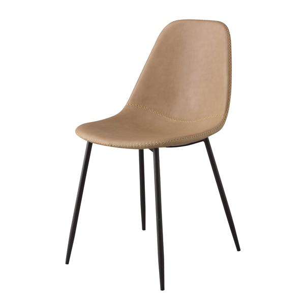 ダイニングチェア 食卓チェア スチール レザー カフェチェアー 食卓椅子 いす イス 椅子 ダイニングチェアー レトロ モダン 北欧 ブルックリン 西海岸 男前 インテリア おしゃれ シンプル アンティーク 姫系 カントリー かわいい 高級感 ベージュ