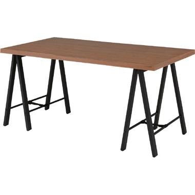 テーブル 天板のみ 幅150×奥行80cm ブラウン