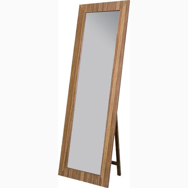 スタンドミラー 姿見 全身 飛散防止ミラー 木目 アンティーク ミラー 鏡 全身鏡 かがみ カガミ モダン 美容院 店舗 カフェ サロン レトロ モダン ブルックリン 西海岸 おしゃれ