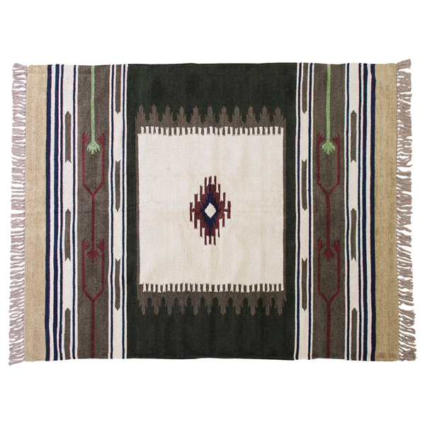 <title>OUTLET SALE キリムラグ ラグマット 170x230cm コットン 綿 フロアマット 柄 ラグ マット カーペット じゅうたん 絨毯 センターラグ リビングラグ シンプル おしゃれ 北欧 高級感</title>