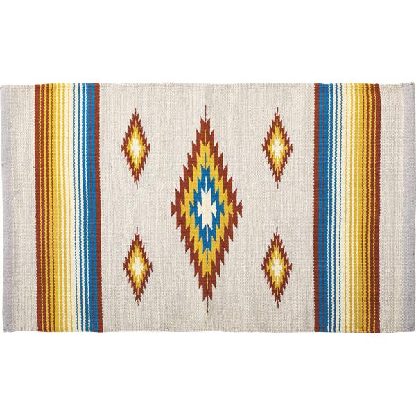 ラグ マット フロアマット 柄 コットン 綿 ラグマット デザイン ラグカーペット 130x190cm じゅうたん 絨毯 リビングラグ センターラグ シンプル おしゃれ 北欧 高級感