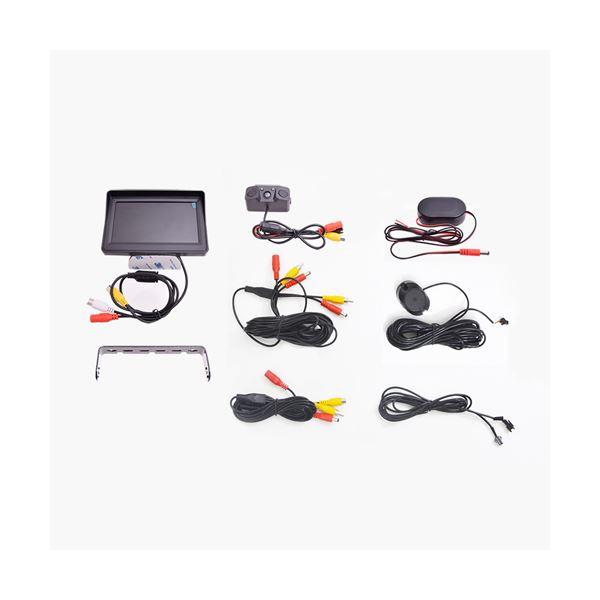 サンコー バックセンサー&モニターセット24V対応版 BACKSN24