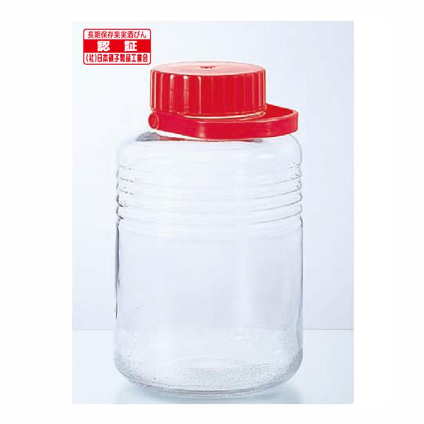 貯蔵瓶A型8L(10号) 【× 18個】