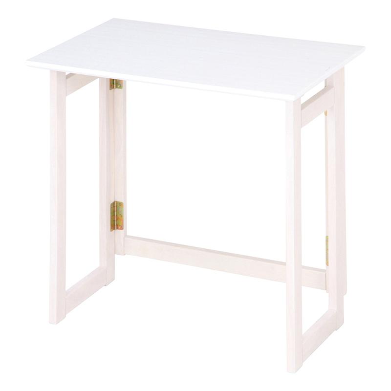 送料無料 フォールディングテーブル 幅70cm 折りたたみテーブル 折り畳み コンパクト ダイニングテーブル パソコンテーブル ミラン 食卓テーブル テーブル 木製 リビングテーブル 北欧 シンプル モダン 高級感 おしゃれ デザイン ホワイトウォッシュ
