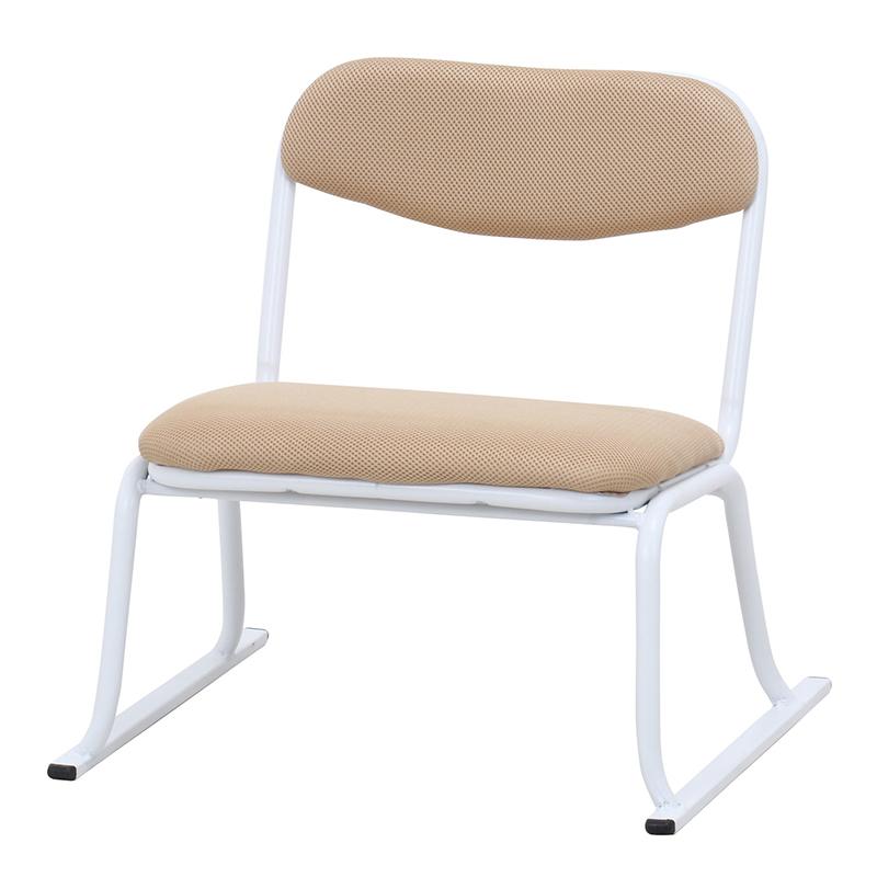 送料無料 6脚セット くつろぎ スタッキングチェアー 重ねて収納 イス いす 椅子 チェア 玄関 事務所 オフィス 北欧 モダン シンプル おしゃれ かわいい ベージュ