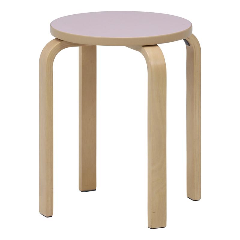 送料無料 6脚セット スツール カラフルスツール イス 椅子 いす チェアー チェア 腰掛け 木製 会議室 リビング キッチン オフィス 玄関 シンプル モダン コンパクト おしゃれ かわいい 北欧 パウダーピンク