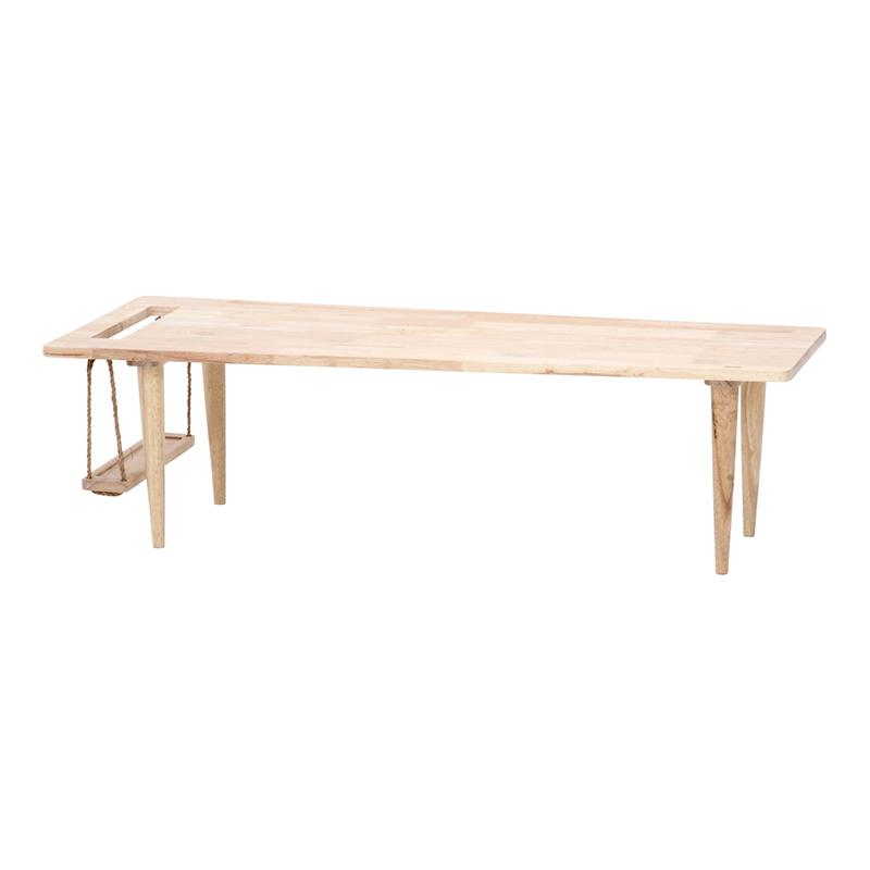 送料無料 Natural Signature センターテーブル ブランコ ローテーブル 木製 リビングテーブル カフェテーブル 作業台 シンプル モダン おしゃれ 西海岸 男前インテリア 北欧