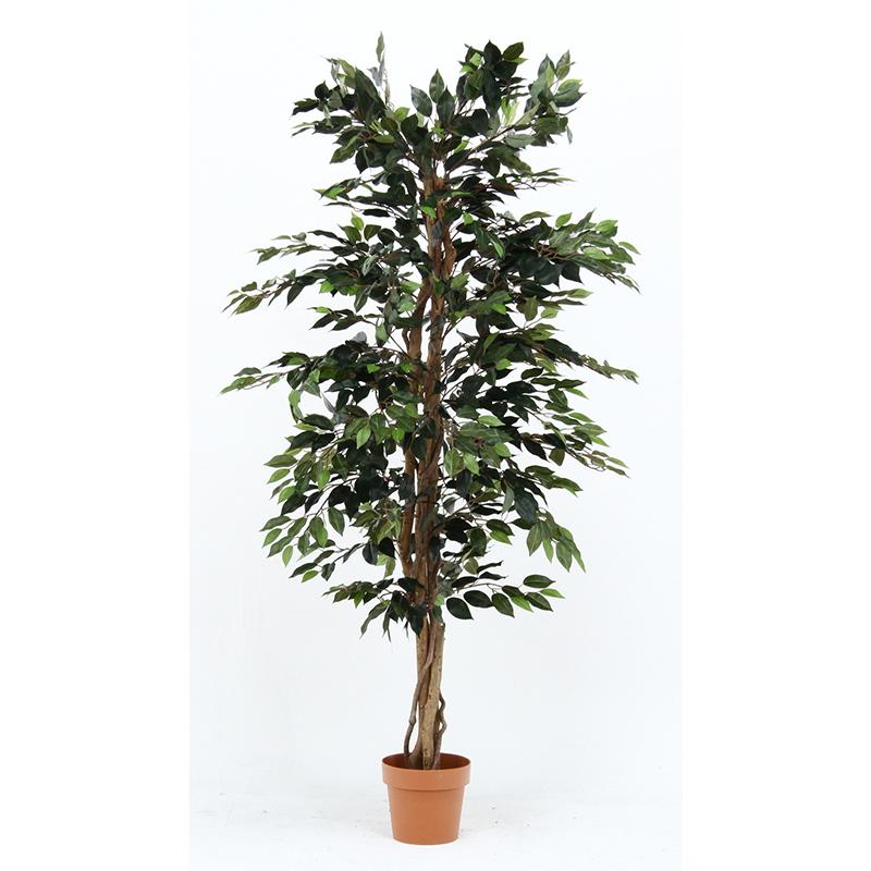 送料無料 観葉植物 フィカス 人工観葉植物 フェイクグリーン 造花 引っ越し祝い 新築祝い おしゃれ かわいい インテリア 雑貨