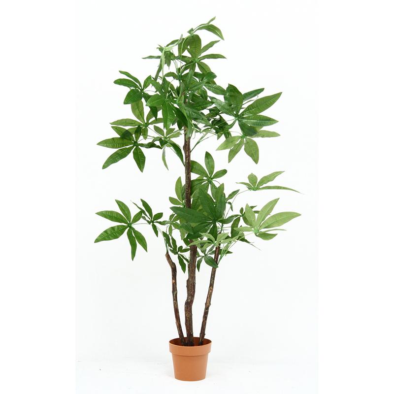 送料無料 観葉植物 パキラ スタンダード 人工観葉植物 フェイクグリーン 造花 引っ越し祝い 新築祝い おしゃれ かわいい インテリア 雑貨