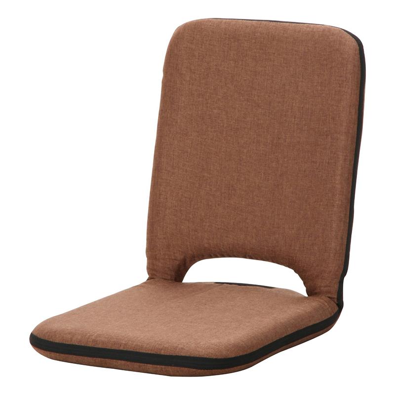 送料無料 4個入り 座椅子 1人掛け座椅子 コンパクト シオン フロアチェア リビングチェア 椅子 座イス チェア シンプル 北欧 モダン かわいい ブラウン