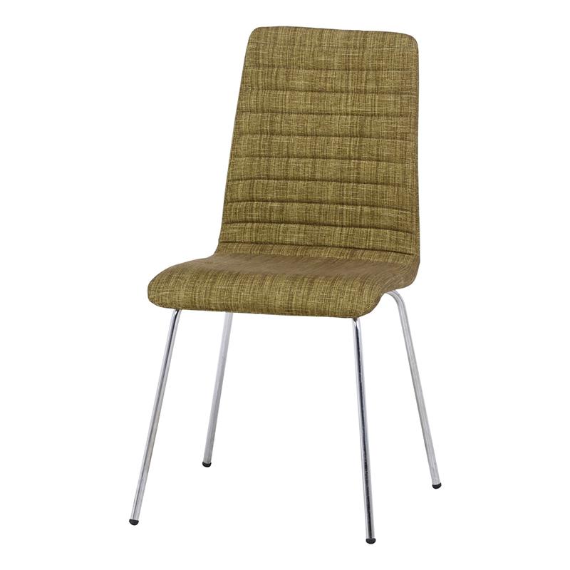 送料無料 ダイニングチェアー 単品 1人掛け シュクルチェアー ファブリック スチール ダイニングチェア イス 椅子 いす チェアー チェア 食卓椅子 1人がけ インテリア 北欧 シンプル モダン 高級感 おしゃれ デザイン グリーン
