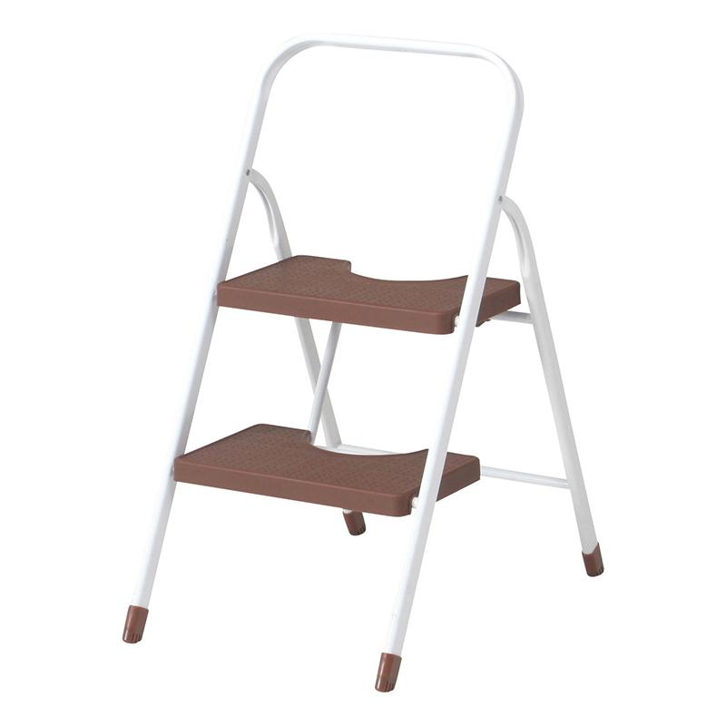 送料無料 4個入り カラーステップ2段 脚立 折りたたみ 折り畳み はしご 踏み台 ステップ 梯子 コンパクト 省スペース スチール お掃除 洗車 シンプル おしゃれ