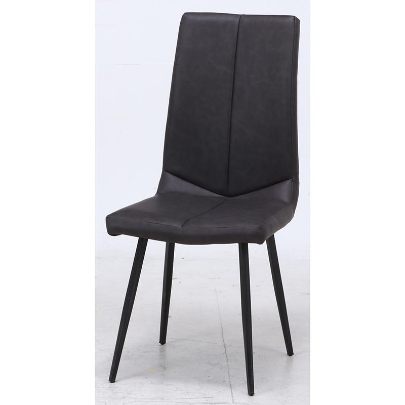 送料無料 ダイニングチェアー 2脚組 2脚セット 1人掛け スチール ハイバックダイニングチェア レグナ イス 椅子 いす チェアー チェア 食卓椅子 1人がけ インテリア 北欧 シンプル モダン 高級感 おしゃれ デザイン ブラック