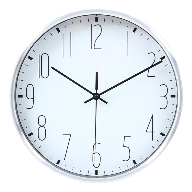 送料無料 6個セット 掛時計 ラーク Φ25cm ホワイト 掛け時計 ウォールクロック かけ時計 壁掛け時計 壁掛け シンプル 北欧 モダン かわいい おしゃれ