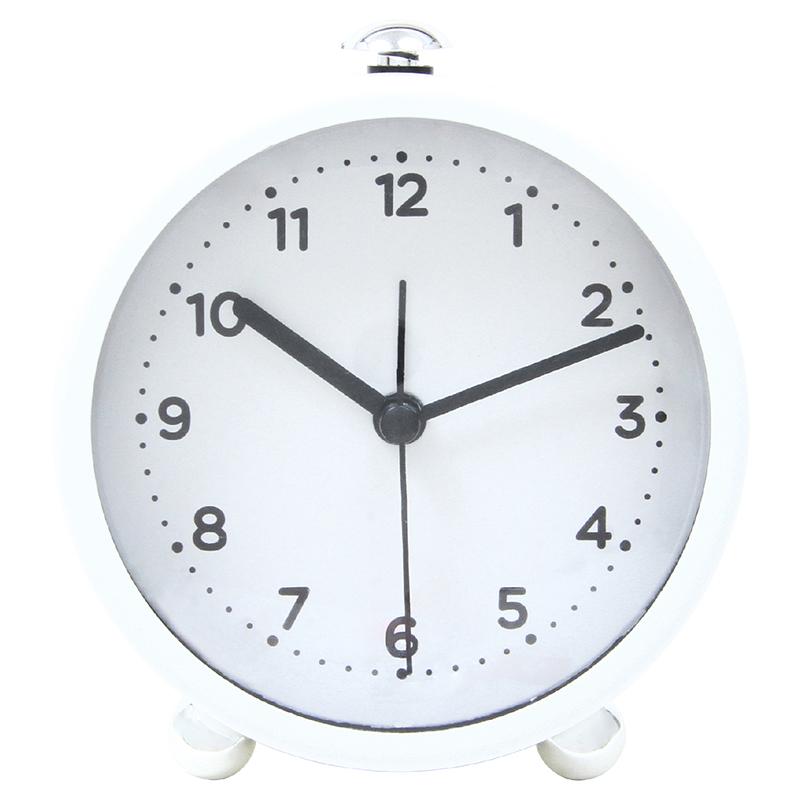 送料無料 6個セット 置時計 クローエ ホワイト 置き時計 クロック 時計 シンプル モダン おしゃれ