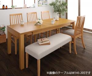 Costa コスタ 3段階伸縮ダイニングテーブル 6点セット (テーブル 幅120-150-180+チェア4脚+ベンチ1脚) 天然木 木製 天板拡張 角型 6人用 500026821 ハイバックチェア ダイニング 6人掛け 食卓テーブル 伸縮式 伸長式テーブル エクステンションテーブル モダン 北欧 送料無料