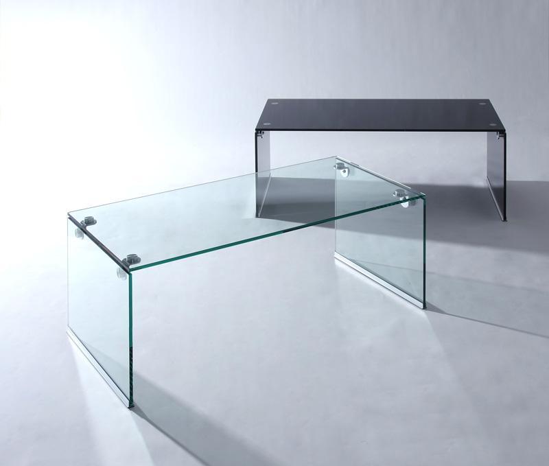 ガラスローテーブル ガラス ローテーブル テーブル 強化ガラス ガラス製 -レナ- カラー 黒 ブラック クリア 一人暮らし ワンルーム シンプル 新生活 家具通販 新生活 敬老の日 (送料無料) 040100727