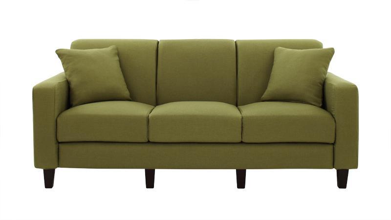 20色から選べる カバーリングソファ・スタンダードタイプ リジョイ ソファ 角錐脚 175cm (送料無料) 500028053