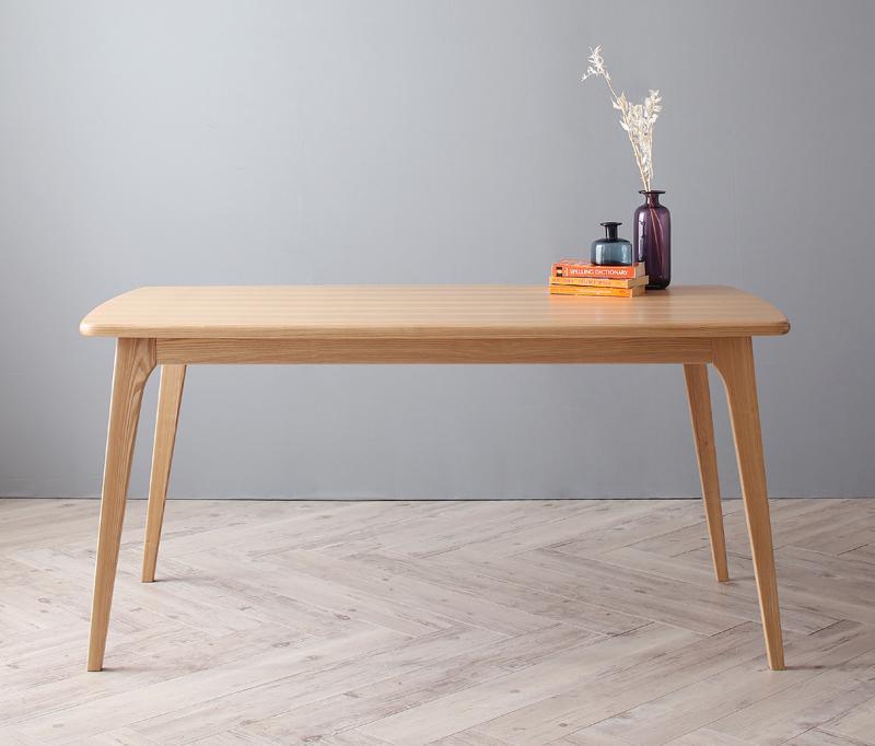 ダイニングテーブル単品 幅150cm 北欧デザイナーズダイニング テーブル(W150) 食卓テーブル 木製 おしゃれ ひとり暮らし ワンルーム シンプル【Cornell】コーネル 新生活 敬老の日 (送料無料) 040600503