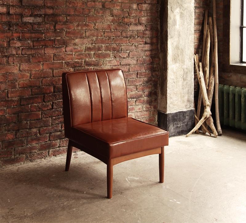 ダイニングチェアのみ 1脚 ダイニングチェアー レザー アメリカンヴィンテージ リビングダイニング 66 ダブルシックス 椅子 いす 食卓椅子 ハイバック 北欧 おしゃれ (送料無料) 040600662
