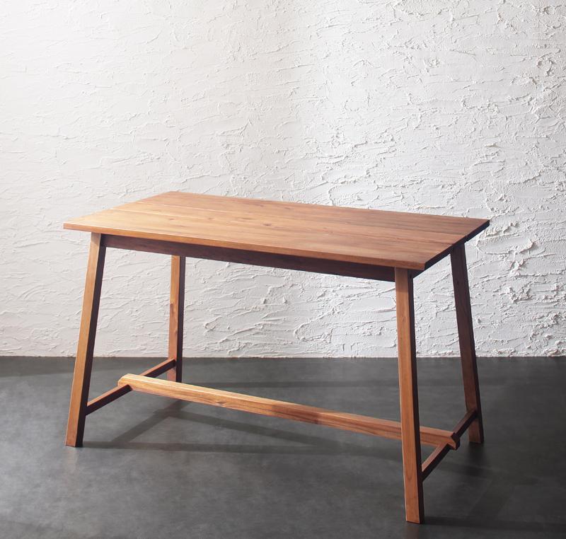 テーブル単品 幅120cm ダイニングテーブル 4人用 ルームガーデンファニチャーシリーズ プフランツェ 木製 木目 天然木 カフェテーブル 食卓テーブル つくえ 机 マホガニー材 作業テーブル 人気 おしゃれ 北欧 (送料無料) 040600718