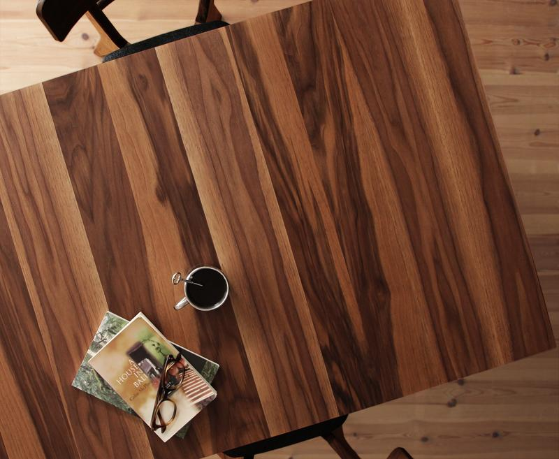 ダイニングテーブル単品 幅120 150 180 テーブル 天然木ウォールナットエクステンションダイニング ヌーベル 天板 伸ばせる 伸縮テーブル 伸長 ダイニング 食卓テーブル 木製 カフェテーブル 人気 北欧 (送料無料) 040600854