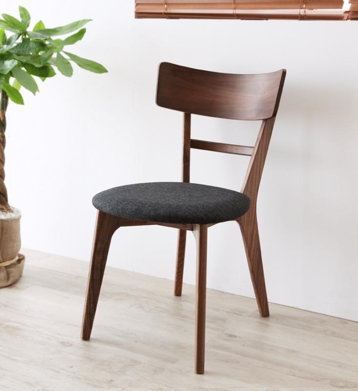 ダイニングチェア(同色2脚組) チェア チェアー 天然木ウォールナット ヌーベル ウォールナット無垢材 木目 木製 椅子 いす イス 食卓椅子 食卓いす 人気 おしゃれ かわいい (送料無料) 040600855