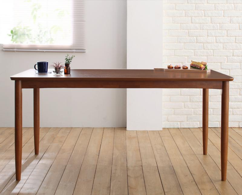 ダイニングテーブル 幅150×奥行75cm 4人掛け 天然木 4人用 長方形 テーブル ティモ リビングテーブル 食卓テーブル カフェテーブル 机 つくえ 作業台 木製 木目 高級感 おしゃれ 北欧 (送料無料) 040601173