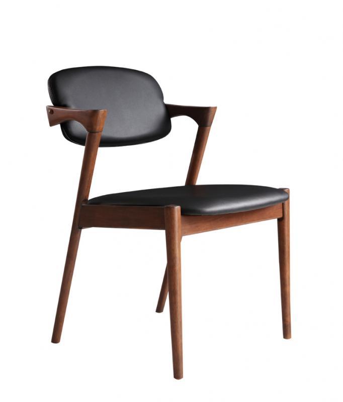 チェア(2脚組) ダイニングチェア デザインダイニング カーリン ダイニングチェアー チェア チェアー リビング 椅子 イス いす 食卓椅子 食卓チェア 木製 高級感 おしゃれ 北欧モダン ナチュラル (送料無料) 040601236
