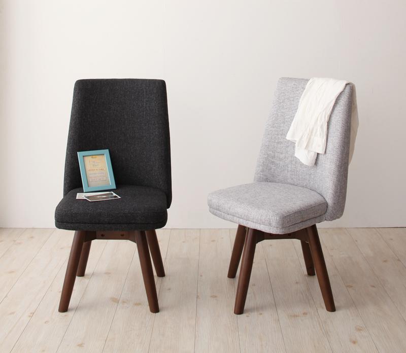 回転チェア(2脚組) 北欧デザイン らくらく回転チェアダイニング クーラ 回転 回転椅子 回転チェアー ダイニングチェア ダイニングチェアー 椅子 いす イス 木製 北欧 (送料無料) 040601273