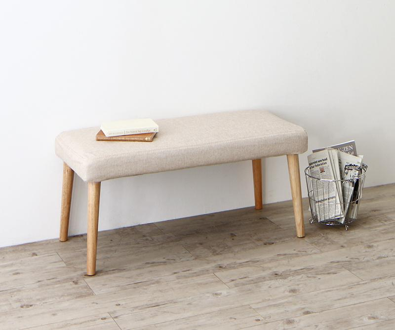 BELONG ビロング ベンチ 2人掛け 木製 天然木 ベージュ 500026794 ダイニングベンチ 椅子 いす イス チェア 二人がけ 長椅子 長いす 長イス ベンチチェア 腰掛け 食卓いす モダン 北欧 おしゃれ (送料無料) 500026794