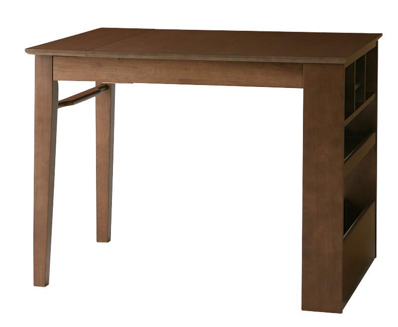 100cmから伸びる コンパクトエクステンションダイニング popon ポポン ダイニングテーブル W100-135 (送料無料) 500026948