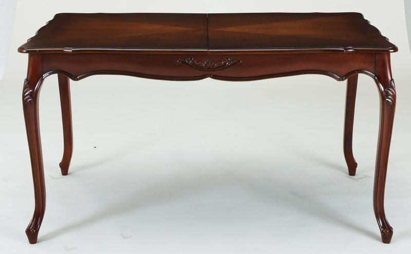 エクステンションクラシックダイニング Francoise フランソワーズ ダイニングテーブル W140-180 (送料無料) 500026997