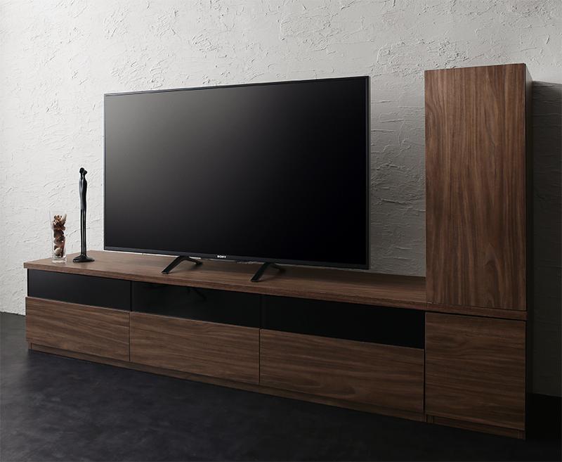 キャビネットが選べるテレビボードシリーズ add9 アドナイン 2点セット(テレビボード+キャビネット) 木扉 W180 (送料無料) 500027024