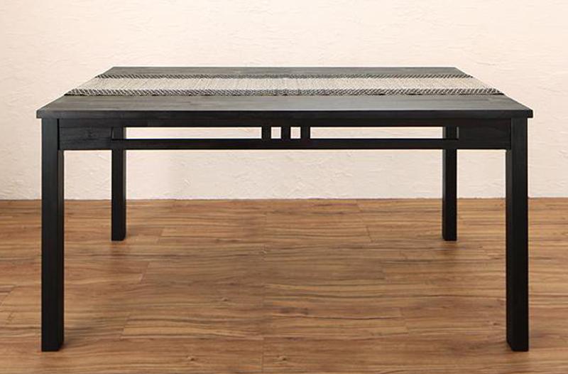 アジアンモダンダイニングセット Kubera クベーラ ダイニングテーブル W150 (送料無料) 500028096