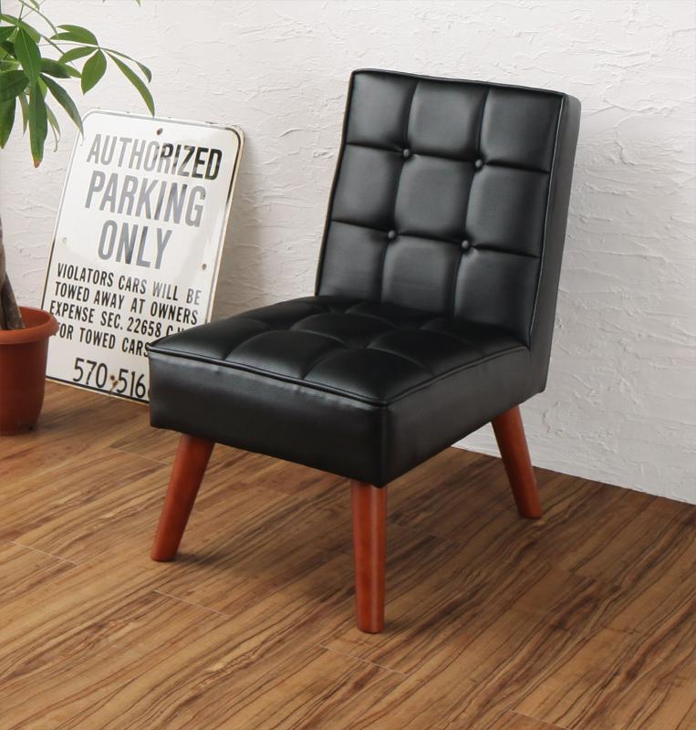 ダイニングチェアのみ 1脚 ヴィンテージ カフェスタイル リビングダイニング TOLD トルド 合成皮革 ダイニング 椅子 いす イス チェアー ブラック (送料無料) 500028872