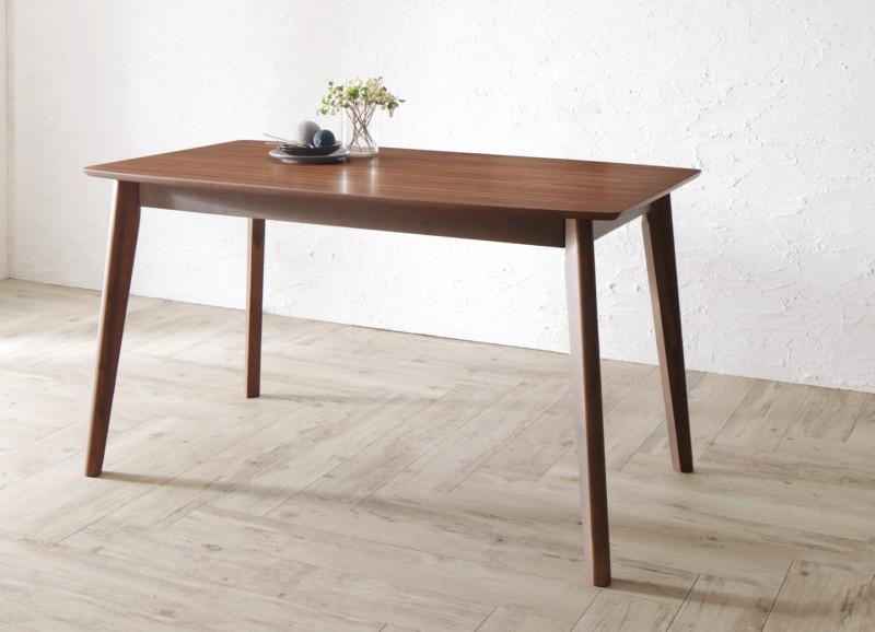 天然木北欧モダンデザインダイニング Chaleur シャルール ダイニングテーブル W130 (送料無料) 500033439
