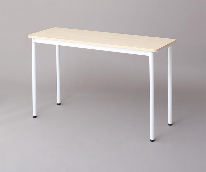 オフィスワークテーブルのみ 幅100 奥行き70 高さ70cm 多目的オフィスワークテーブル ISSUERE イシューレ オフィステーブル 木製 スチール脚 平机 ダークブラウン ホワイト ナチュラル (送料無料) 500033534