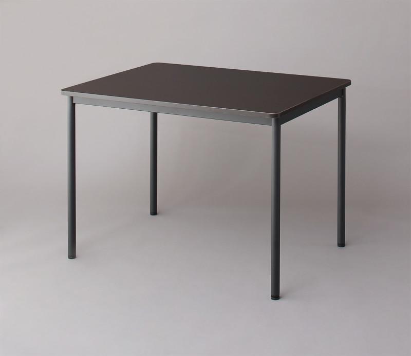 オフィスワークテーブルのみ 幅120 奥行き70 高さ70cm 多目的オフィスワークテーブル ISSUERE イシューレ オフィステーブル 木製 スチール脚 平机 ダークブラウン ホワイト ナチュラル (送料無料) 500033535