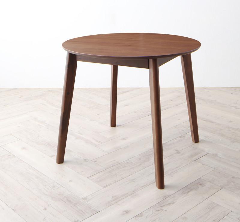 北欧モダンラウンドテーブル Mona モナ ダイニングテーブル W90 (送料無料) 500033649