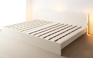 送料無料 ベッドフレームのみ ワイドK240 セミダブルベッド 2台 連結ベッド すのこ 2段階高さ調整 国産 ベッド LANZA ランツァ セミダブルサイズ 棚付き ライト付き コンセント付き 木製 スノコベッド ベット下 収納付き 大容量 高級感 おしゃれ ファミリー