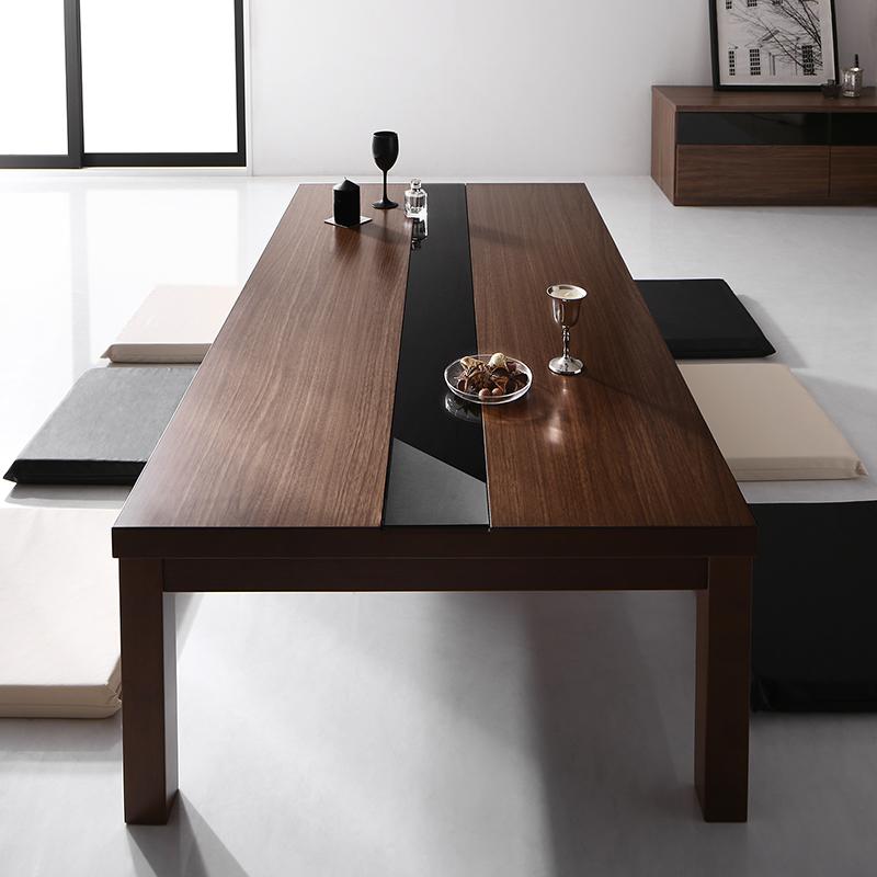 ワイドサイズ アーバンモダンデザインこたつテーブル GWILT-WIDE グウィルトワイド 5尺長方形(80×150cm) (送料無料) 500042480