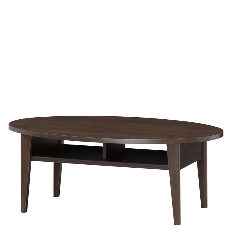 送料無料 ローテーブル センターテーブル カフェテーブル 和暮 リビングテーブル 棚付き収納 コーヒーテーブル 机 つくえ 作業台 木製 レトロ モダン 1人暮らし 和風 シンプル おしゃれ ブラウン