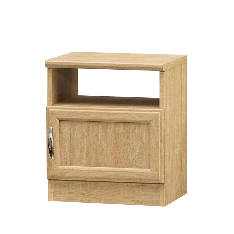 送料無料 サイドテーブル ナイトテーブル 扉付き 収納 小型ラック ホノボーラ ベッドサイドテーブル 寝室 リビング ソファーサイド コンパクト 収納棚 収納ボックス 北欧 1人暮らし シンプル おしゃれ ナチュラル
