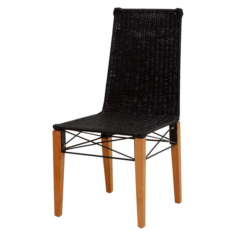 送料無料 チェアー【2個セット】 編み 椅子 アジアンテイスト【RC-1503】