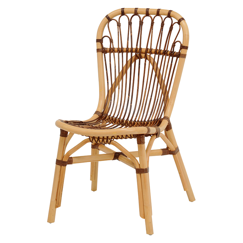 送料無料 チェアー【2個セット】 ラタンチェア 編み 椅子 アジアンテイスト【RC-1505】