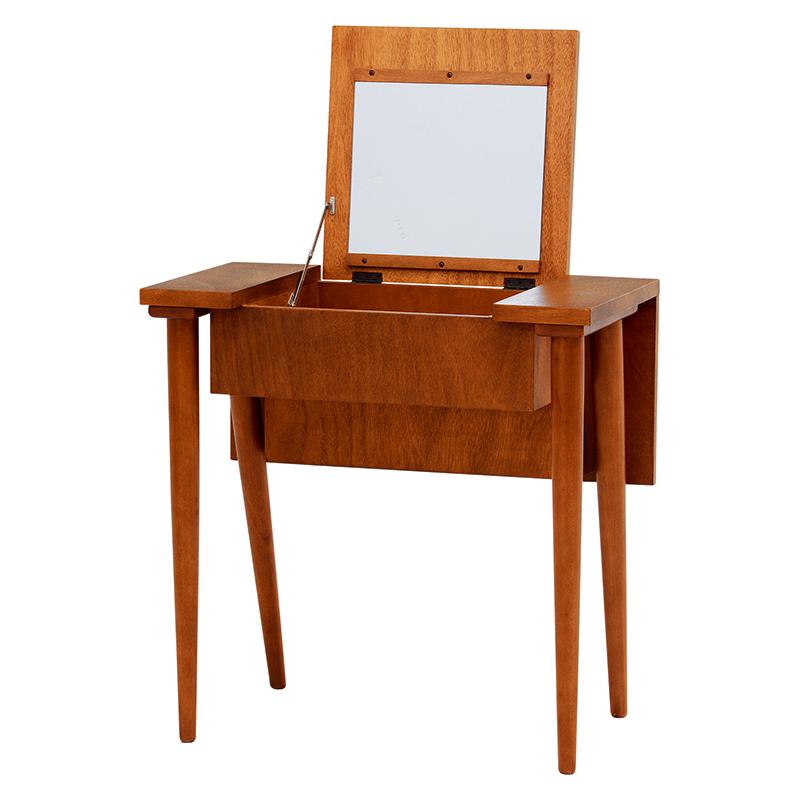 送料無料 木製ドレッサー 大人向け シンプル 可愛い おしゃれ カルマシリーズ ドレッサー かわいい【RD-1390-70】